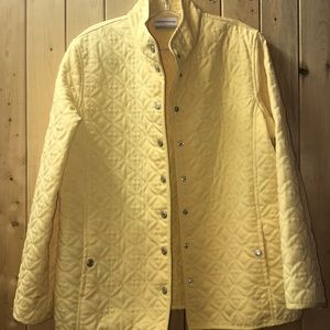 Alfred Dunner yellow jacket 14 P